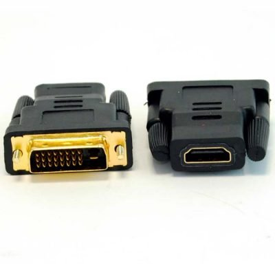 ADAPTADOR HDMI 19H/DVI 24+1 M GOLD