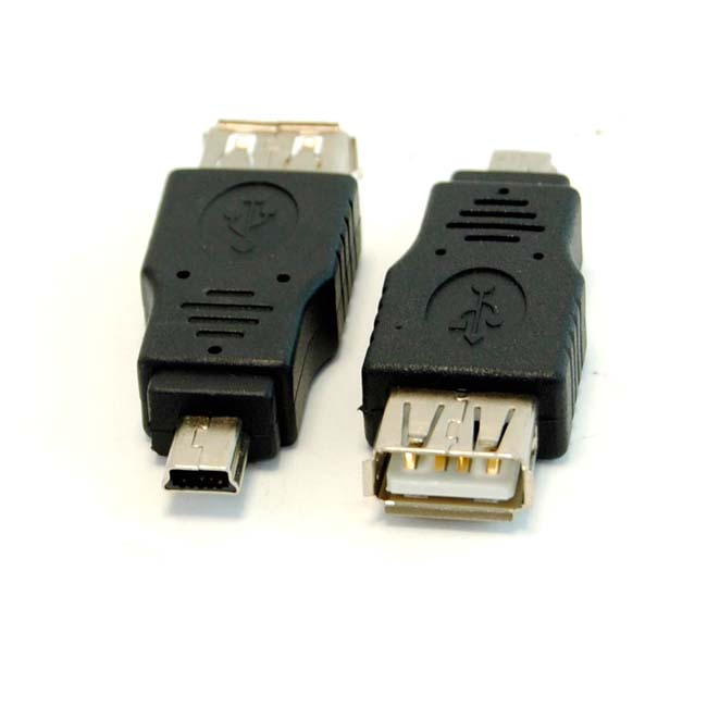 ADAPTADOR USB AH/ MINI USB 5 PM