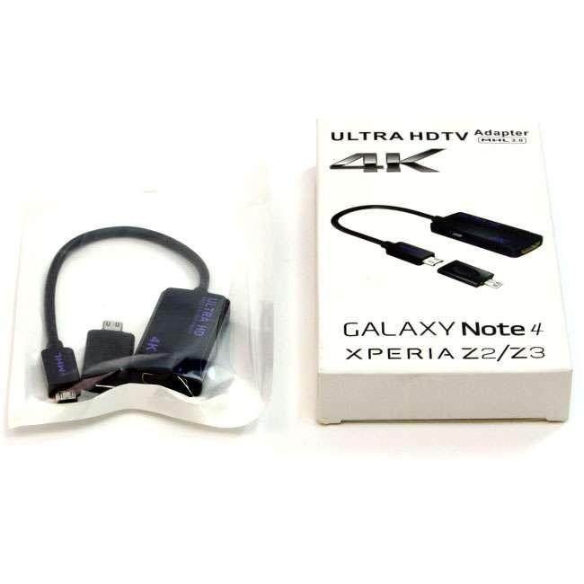 ADAPTADOR MHL 3.0 A HDMI 4K 20 CM