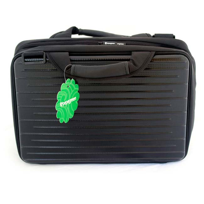 "NETBOOK BAGS 13"" NEGRO HARD SIDE WITH POCKETS"