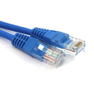 LATIGUILLO COLOR AZUL RJ45 Cat 5e UTP 1 METRO