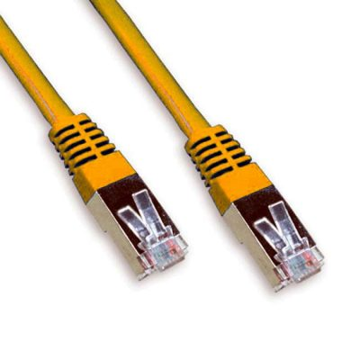LATIGUILLO COLOR NARANJA RJ45 Cat 6 FTP 0.25M 24AWG LSZH