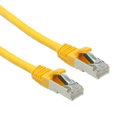 LATIGUILLO COLOR AMARILLO RJ45 Cat 6 FTP 0.5M 24AWG LSZH
