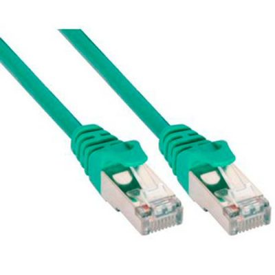 LATIGUILLO COLOR VERDE RJ45 Cat 6 FTP 1M 24AWG LSZH