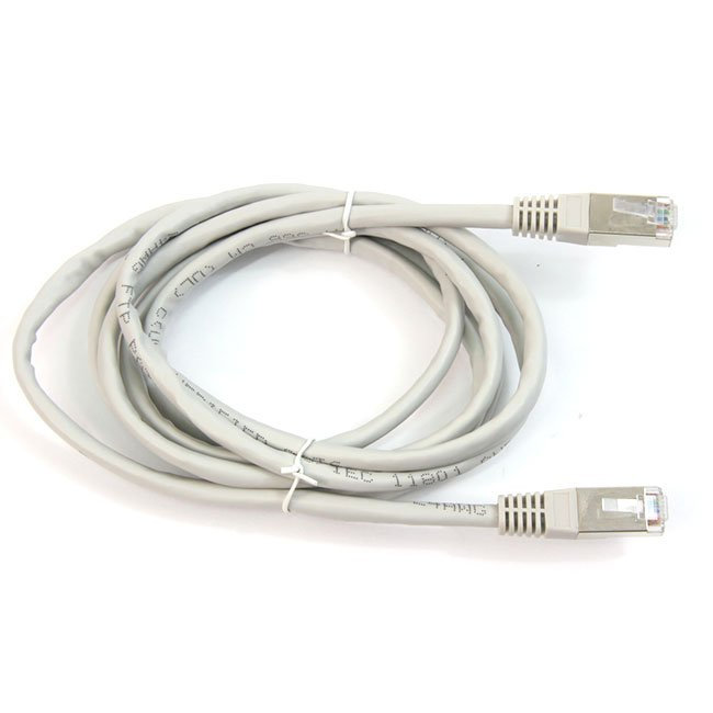 LATIGUILLO COLOR GRIS RJ45 Cat 6 FTP 2 METROS 24AWG