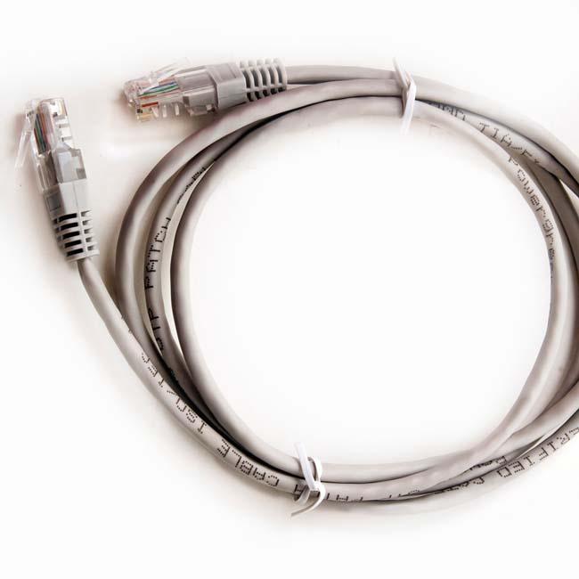 LATIGUILLO COLOR GRIS RJ45 Cat 6 UTP 3 METROS