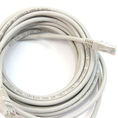 LATIGUILLO COLOR GRIS RJ45 Cat 6 UTP 10 M 24AWG LSZH