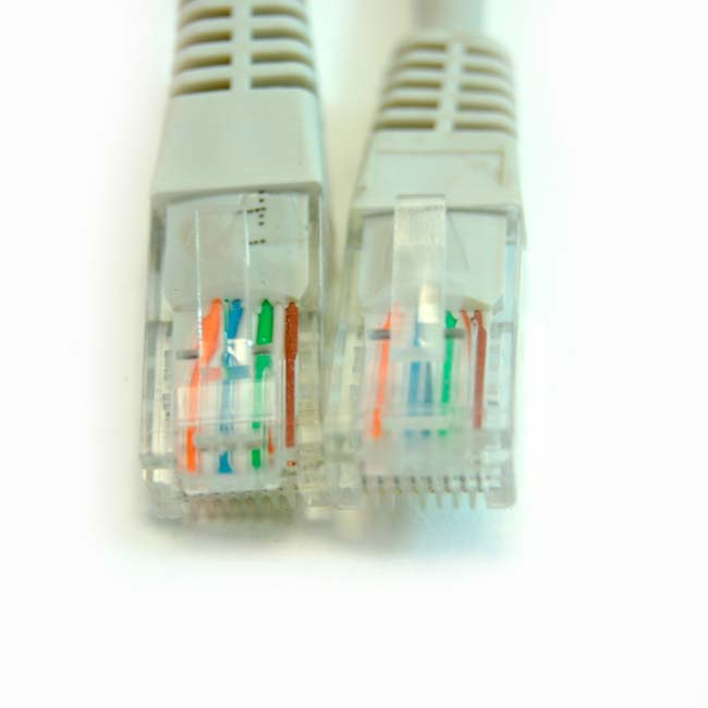 LATIGUILLO COLOR GRIS RJ45 Cat 6 UTP 30 METROS ECO