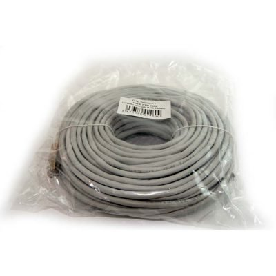 LATIGUILLO COLOR GRIS  CAT6 40M FTP 24AWG