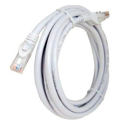 LATIGUILLO COLOR BLANCO RJ45 Cat 6 UTP 1 METRO LSZH