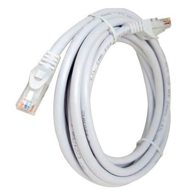 LATIGUILLO COLOR BLANCO RJ45 Cat 6 UTP 3 METROS LSZH