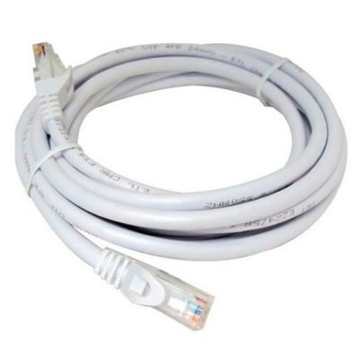 LATIGUILLO COLOR BLANCO RJ45 Cat 6 UTP 1.5 METROS