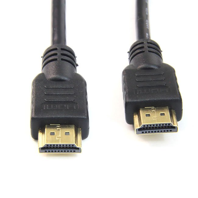 CABLE HDMI V1.4 CONECTOR FERRITA AM-AM ORO – 1 METROS