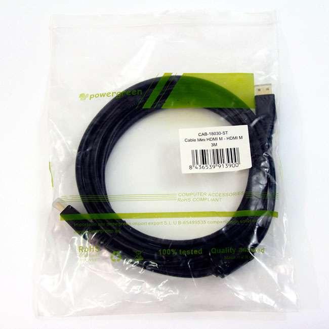 CABLE MINI HDMI M -HDMI M – 3M