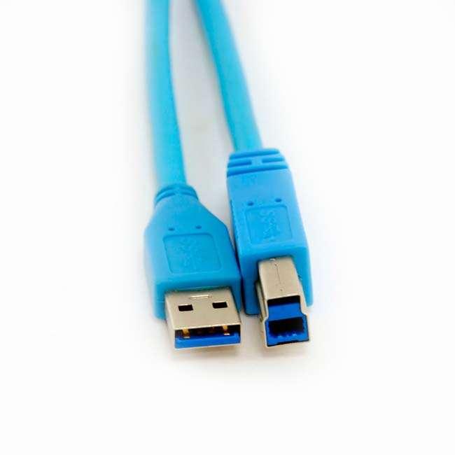 CABLE USB 3.0 IMPRESORA TIPO AM-BM - 1 METRO
