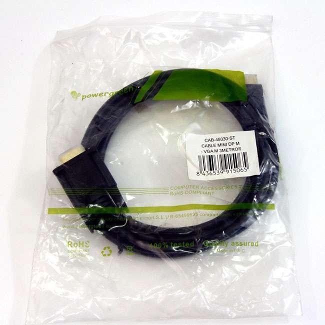 CABLE MINI DISPLAY PORT M -VGA M – 3 METROS