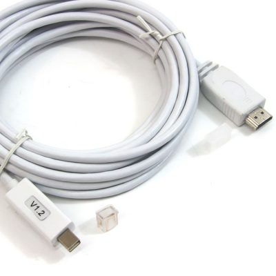 CABLE MINI DISPLAY PORT M - HDMI M - 3 METROS
