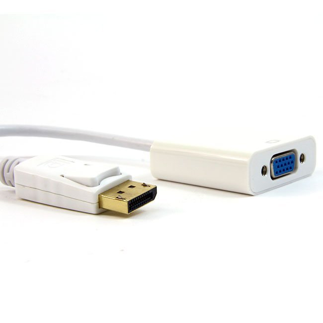 CABLE DISPLAY PORT M - VGA H – 20 CM