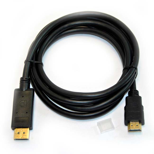 CABLE DISPLAY PORT M - HDMI M -1.8 METROS