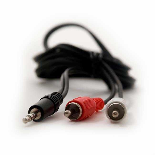 CABLE JACK 3.5 mm /M A 2 RCA /M 3 METROS