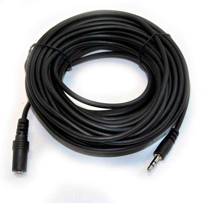 CABLE JACK 3.5 mm /M A JACK 3.5 mm /H 15 METROS