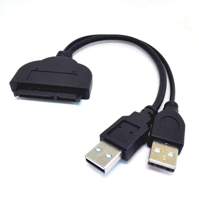 CABLE ADAPTADOR USB 2.0 A SATA PARA SSD/HDD