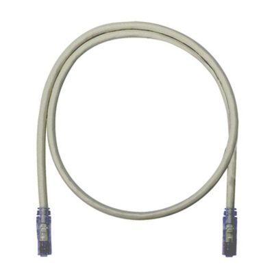LATIGUILLO COLOR GRIS CAT 6A SFTP LSZH 15 METROS 26 AWG COBRE 100%.