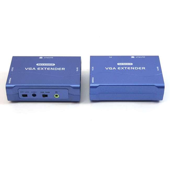 EXTENSOR - 100 METROS PARA VGA + AUDIO