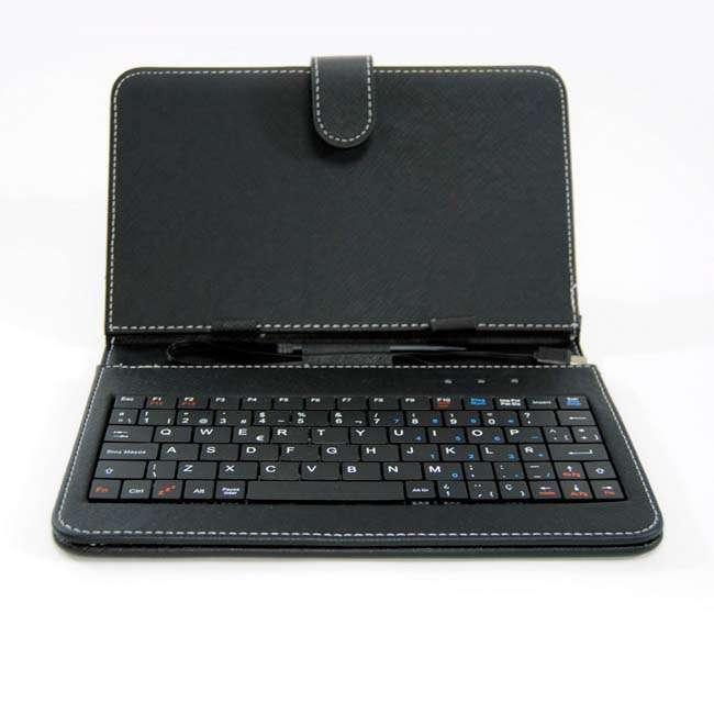 Funda tablet 7 con teclado espa ol pepegreen powergreen - Funda tablet con teclado 7 ...