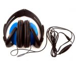 AURICULARES CON CABLE COLOR AZUL STAR