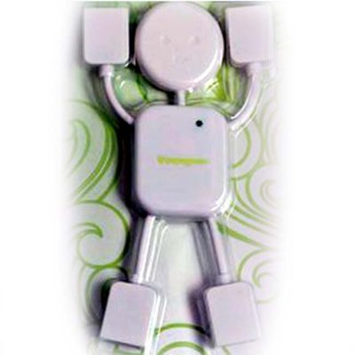 HUB USB MODELO MUÑECO COLOR BLANCO