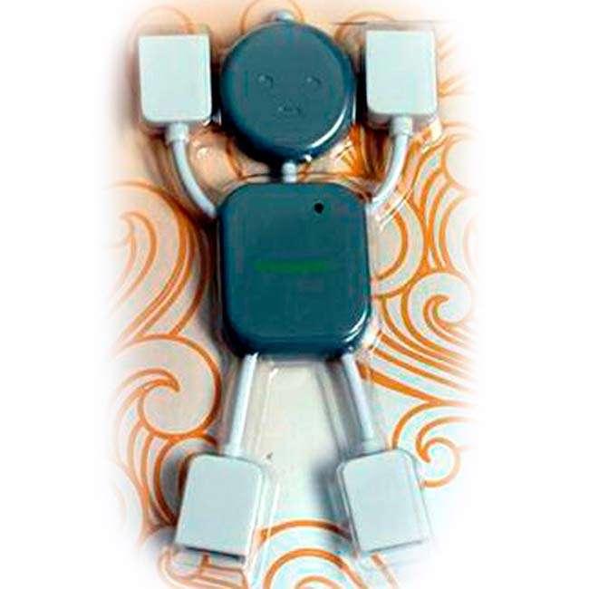 HUB USB MODELO MUÑECO COLOR GRIS