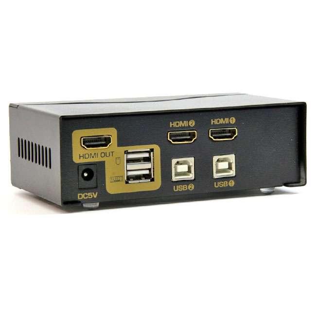 2 PUERTOS HDMI KVM SWITCH