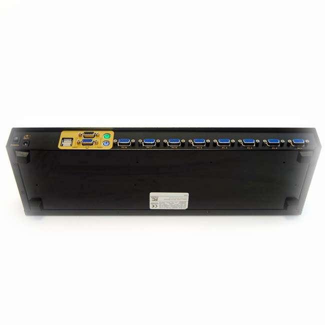 8 PUERTOS USB&PS2 COMBO KVM SWITCH (CON CABLES )