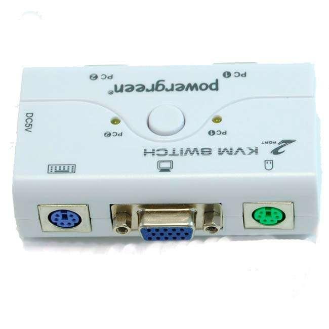 2 PUERTOS PS2 KVM SWITCH (CON CABLES )