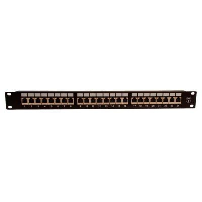 PATCH PANEL 24 PUERTOS Cat 6 FTP