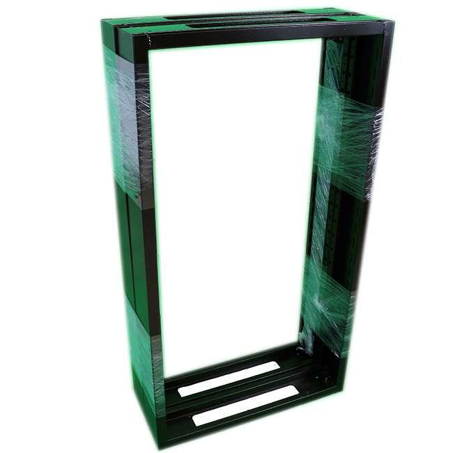 Armario rack 32u 60x80 con puerta de cristal y puerta - Armario con puertas de cristal ...