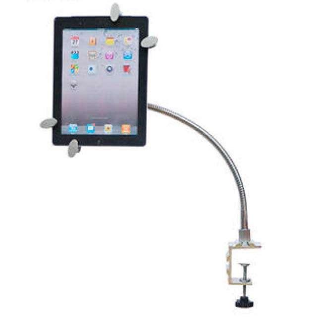 Soporte de mesa para 1 tablet 7 10 brazo flexible alta - Soporte tablet mesa ...