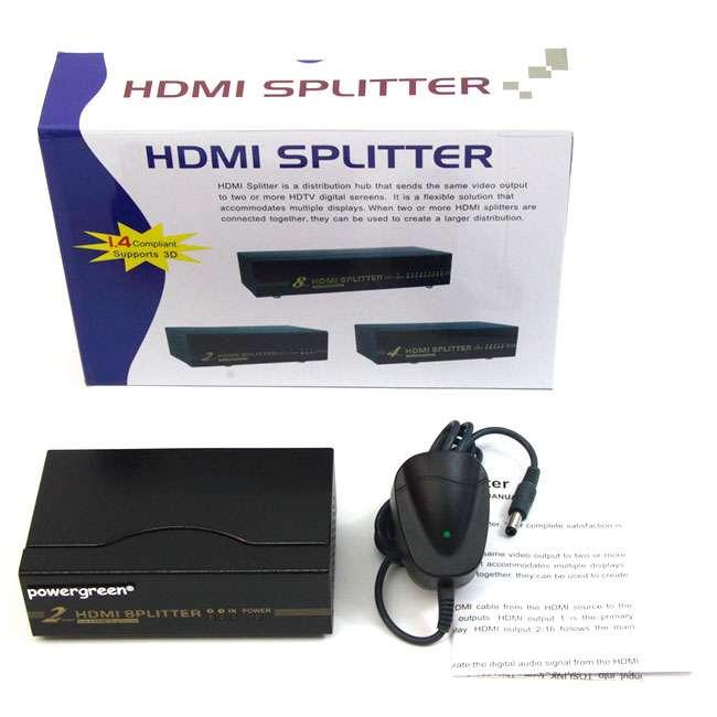 SPLITTER HDMI 1 ENTRADA - 2 SALIDAS
