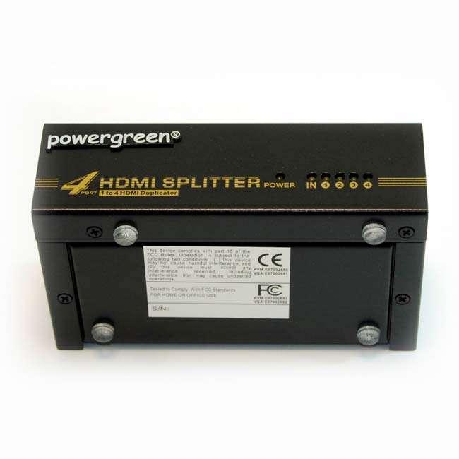 SPLITTER HDMI 1 ENTRADA - 4 OUTPUT