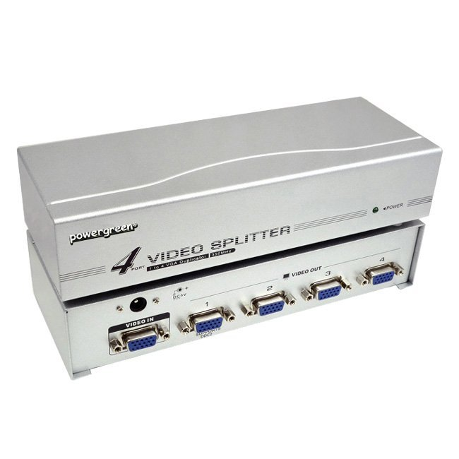 SPLITTER VGA 4 SALIDAS (350MHZ)