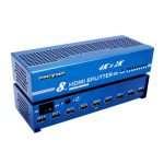 SPLITTER HDMI 1 INPUT - 8 OUTPUT (1.4V) 4K, 2K, 3D