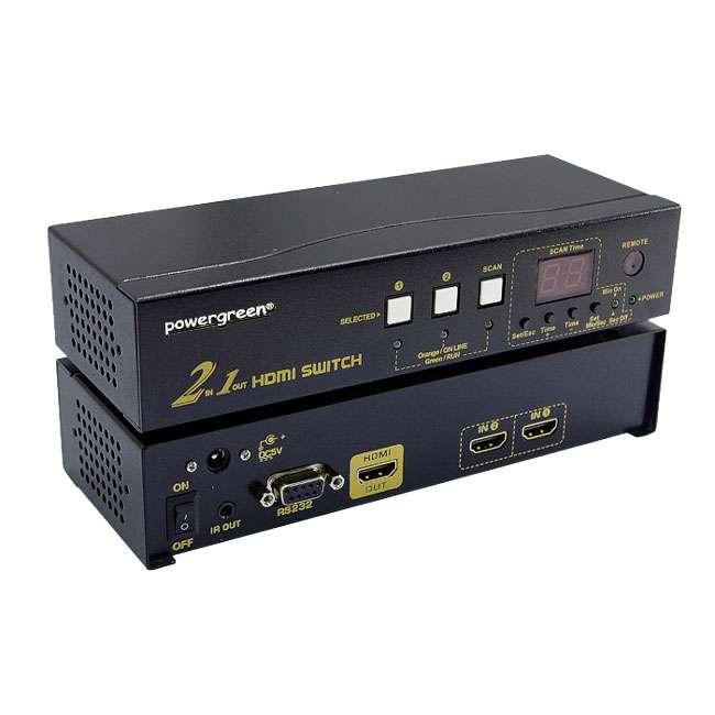 SWITCH 2 ENTRADAS - 1 SALIDA HDMI ALTA GAMA